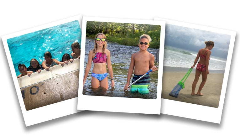 Photos of summer memories