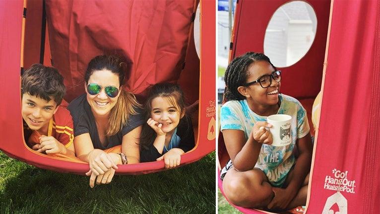 Family time in Hugglepod