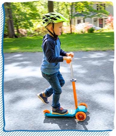 Adjustable Height Kick Scooter
