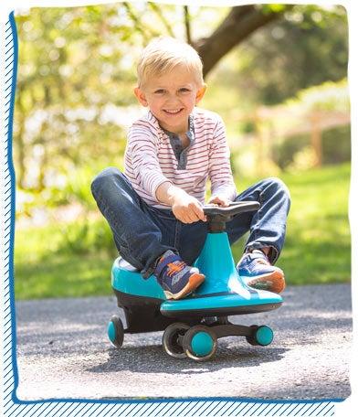 Twist 'n Go Cart Ride-On