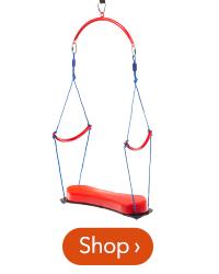 64 inch 2-in-1 BungeeBounce Swing