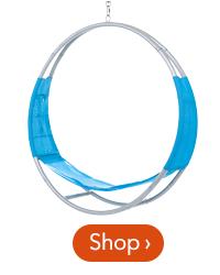 40 inch Aerial Hoop Spinning Swing