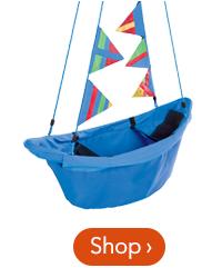 47 inch Blue Regatta Boat Swing