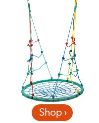 40 inch 2-in-1 Climbing Rope Swing