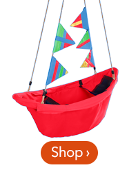 47 inch Red Regatta Boat Swing