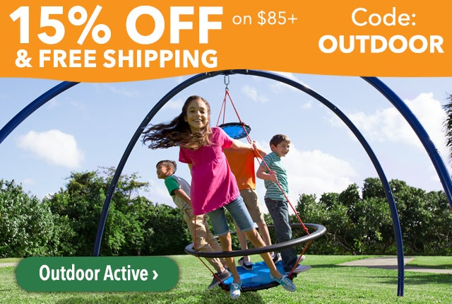 15% Off and Free Shipping on Orders $85 Code: OUTDOOR Shop Outdoor Active >