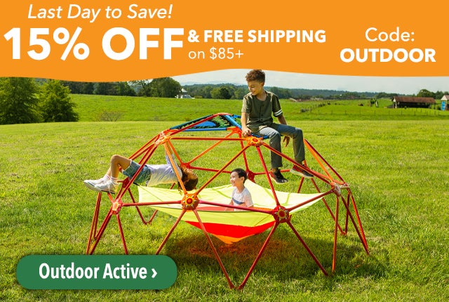 Last Day To Save! 15% Off and Free Shipping on Orders $85 Code: OUTDOOR Shop Outdoor Active >