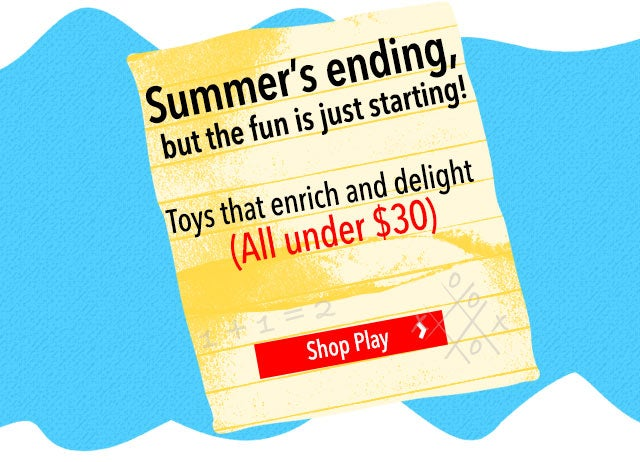 Summer's ending, but the fun is just starting!