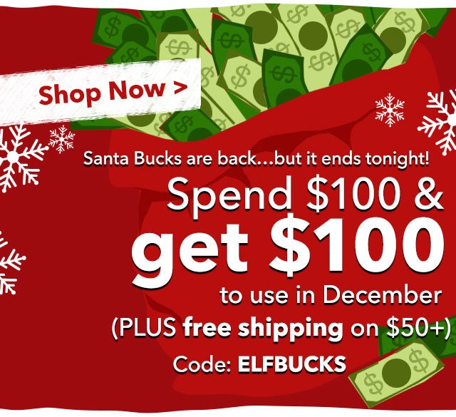 Santa Bucks are back!