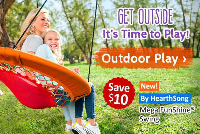 Get Outside-It's Time to Play!