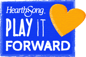 HearthSong Play It Forward Logo