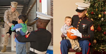 marines with children toys for toys